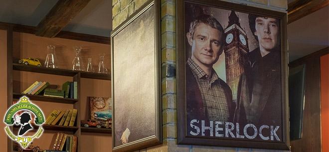 The Sherlock Holmes pub, 8