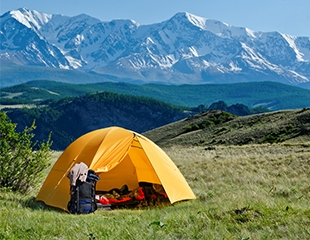 Идем в поход! Прокат спальных мешков и палаток со скидкой до 50% в магазине Skadi!
