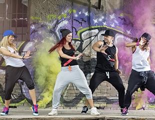 Аэробика, джаз-модерн, хип-хоп, стрип-пластика для взрослых и детей со скидкой до 65% в танцевальной студии PHOENIX!