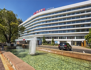 Гостеприимная роскошь! Проживание в гостинице Almaty Hotel со скидкой до 61%!