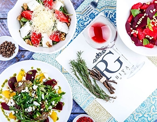 Для истинных гурманов! Восточно-европейская кухня для небольших компаний и банкетов до 80-ти человек в ресторане Rabiya! Скидка 50% на все меню и бар!