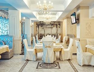 Фирменные и кавказские шашлыки, а также большой ассортимент блюд восточной и европейской кухни в ресторане Verdi! Скидка 50% на меню и бар на компании до 100 человек!