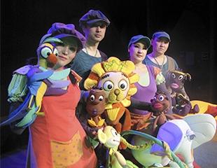 Подарите детям сказку! Спектакли на казахском языке «Сағыныш шөбі», «Қызыл телпек», «Алтын балапан» и другие в Государственном театре кукол! Билеты со скидкой 40%!