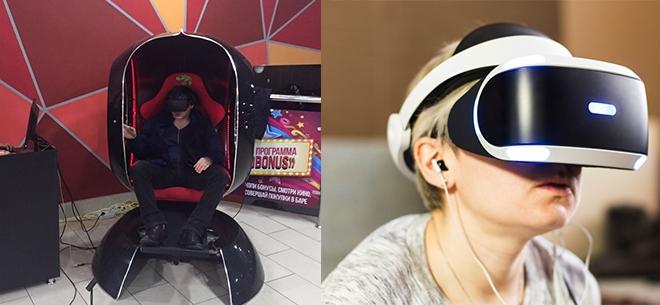 PlayStation VR в ТРЦ Asia Park, 2