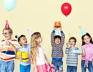 Самый веселый детский праздник! Аренда банкетного зала, аниматоры и шоу-программы со скидкой до 30% в развлекательном центре Kiddy Park!