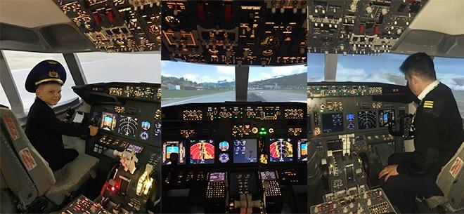 Полеты на авиасимуляторе Boeing 737 NG, 5