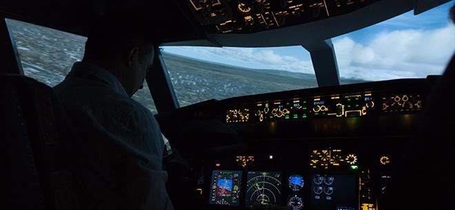 Полеты на авиасимуляторе Boeing 737 NG, 6