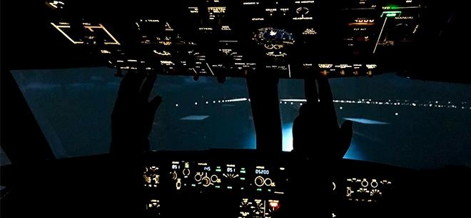 Полеты на авиасимуляторе Boeing 737 NG, 4