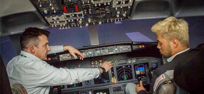 Полеты на авиасимуляторе Boeing 737 NG, 2