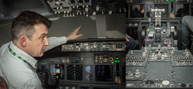 Полеты на авиасимуляторе Boeing 737 NG, 3