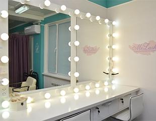 Укладки, различные виды окрашивания, прически и кератиновое выпрямление в салоне красоты Mi Lash со скидкой до 80%!