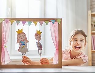 Подарите детям сказку! Спектакли «Три поросёнка», «Дюймовочка», «Каштанка», «Волшебная лампа Аладдина» и другие в Государственном театре кукол! Билеты со скидкой 40%!
