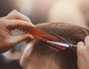 Детские и мужские стрижки любой сложности, а также моделирование бороды со скидкой до 50% от мастера Дильмурата!
