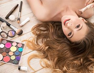 Создание праздничного образа, а также вечерний и свадебный макияж в салоне красоты DELICE со скидкой до 52%!