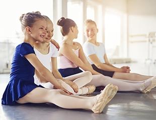 Танцы для детей в студии танца и хореографии «Грация» со скидкой до 75%
