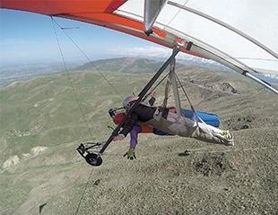 Пари, как птица в небесах! Полеты на дельтаплане с профессиональными пилотами от дельтаклуба Air Tengri!