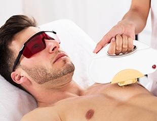 ELOS - эпиляция для мужчин со скидкой до 85% в cалоне красоты Apple room!