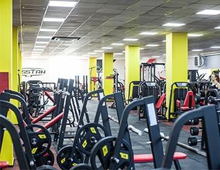 Будьте сильнее и выносливее! Абонементы на 1, 3, 6 месяцев в тренажерном зале со скидкой 50% в Bosstan Gym!
