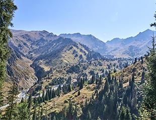 Тур на Лунную поляну в Большом Алматинском ущелье от компании I love Almaty mountains со скидкой 40%!