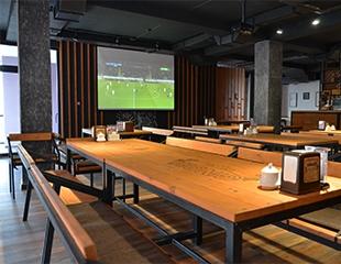 Любимое заведение в новом формате! Наслаждаемся футбольными трансляциями, сетами с пиццей, суши и напитками в новом кафе «Ginger loft cafe»!