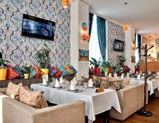 Проведи новогодний корпоратив до 80-ти человек в ресторане Rabiya!  Восточно-европейская кухня для настоящих гурманов! Скидка 50% на все меню и бар!