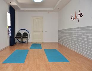 Тонус для души и тела! Йога, зумба, стретчинг и фитнес в центре открытого пространства Relife со скидкой до 66%!