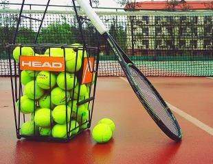 Большая игра! Аренда теннисного корта и мастер-класс по теннису от Tennis Quality со скидкой 50%!