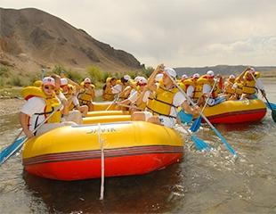 Летний рафтинг по реке Тургень со скидкой 32% от компании Рафт-Сервис