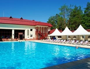 Посещение крытого и открытого бассейнов, а также финская сауна и хамам в ЛОК Ок-Жетпес «Алматы» (бывший Almaty Resort) со скидкой 40%!