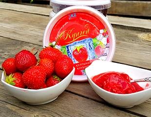 Лето круглый год в замороженных ягодных десертах от компании «Кунгей»! Набор из 4-х вкусов —  клубника, малина, облепиха и ежевика —  со скидкой 50%!