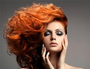 Создание свадебного или вечернего образа, различные виды макияжа и укладок со скидкой до 61% в студии красоты Huda and Beauty!