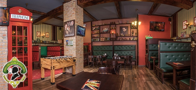The Sherlock Holmes pub, 4