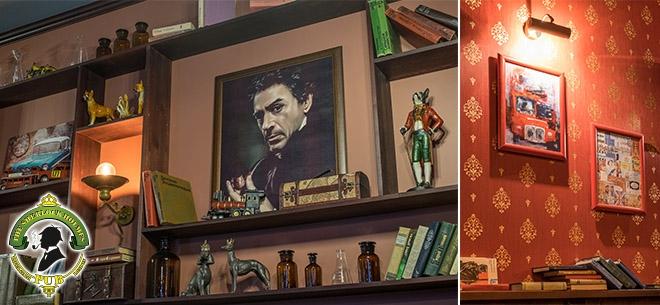 The Sherlock Holmes pub, 5
