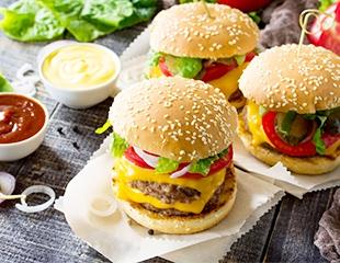 Для ценителей фаст-фуда — сеты с бургерами и пиццей в Bufet Chillout Bar со скидкой 50%!