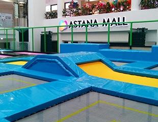 Входной билет в батутный парк Гравитация в ТРЦ Astana Mall со скидкой 40%!