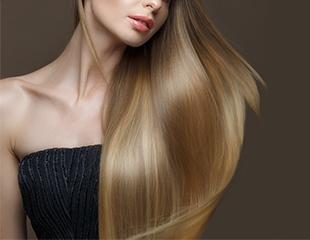 Кератиновое выпрямление, лечение, бoтoкс и спа-процедуры для волос от мастера Батыра со скидкой до 82%!