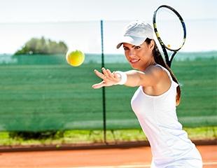 Джокович одобряет: аренда теннисного корта в спортивном комплексе «Сункар» со скидкой в 50% + аренда ракетки и мячей бесплатно на 1 час!