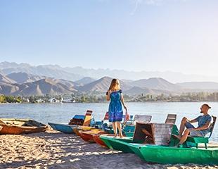 Каждый должен побывать на Иссык-Куле! Проживание в коттеджах с 8 августа по 2 сентября в доме отдыха «Караван Нур»! Скидка до 26% от туроператора Raduga Travel!