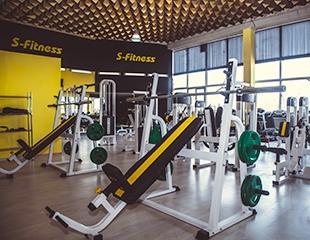 Скидка 50% на 1, 3 и 6 месяцев посещения фитнес-клуба S-Fitness!