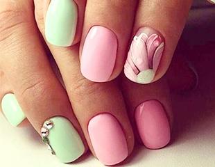 Маникюр и педикюр с гелевым покрытием + дизайн, наращивание ногтей от салона красоты «Колибри» со скидкой до 64%!