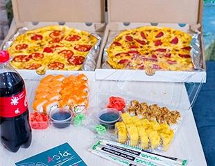 Любимые роллы и ароматная пицца для Вас! Скидка 50% на меню доставки от «Азия Суши»!