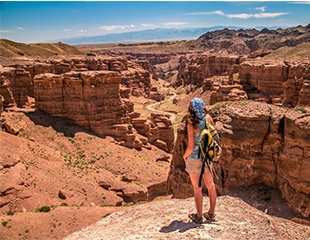 Сказочные замки природы! Тур на Чарынский каньон от Carpe Diem Company со скидкой 25%!