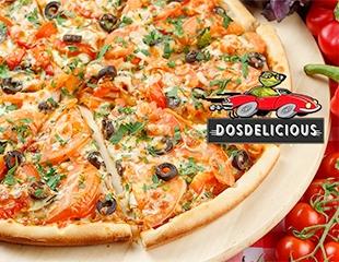 Скидка 50% на меню доставки Dosdelicious!