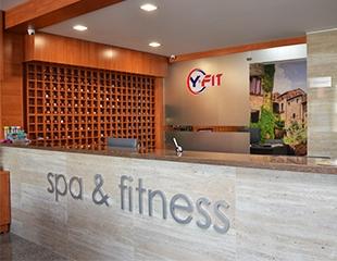 Клубные карты в Y-FIT SPA&Fitness: бассейн, тренажерный зал, хамам, соляная шахта и безлимитные групповые программы со скидкой до 40%!