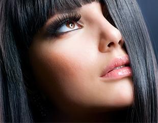 Для обворожительного взгляда! Наращивание ресниц, коррекция и окрашивание бровей в салоне красоты «Колор» со скидкой до 50%!