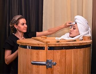 Холодная осень, горячие SPA-программы! Ароматная фито-бочка, джакузи, массаж и многое другое в салоне эстетики тела Grace в Самале со скидкой до 51%!