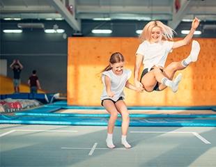 Драйв и веселье! Батутный парк «Гравитация» в ТРК Grand Park! Вход со скидкой до 40%!