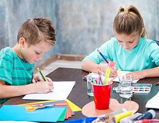 Растем и развиваемся с удовольствием! Программа раннего развития для детей от 4 до 6 лет со скидкой 50% в образовательном центре Interkids!