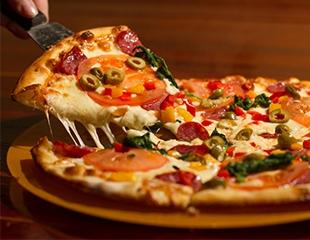 20 видов пиццы, донеры и бургеры для ценителей fast-food! Меню и бар в новой пиццерии «Эльдорадо» со скидкой 50%!