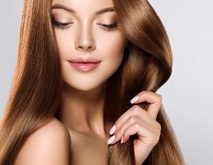 Стрижки, окрашивание, ламинация и лечение волос огнем от мастера Батыра в салоне красоты My STYLE со скидкой до 67%!